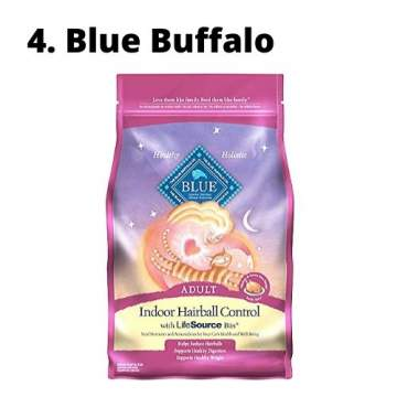 best hairball control cat food