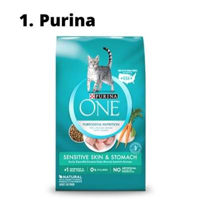 cat food hairball control