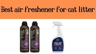 Best air freshener for cat litter